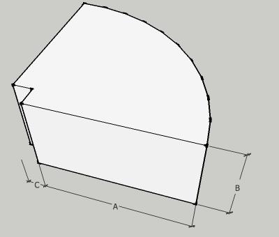 Rectangular Radius Duct Elbows with Square Throat - 90 degrees