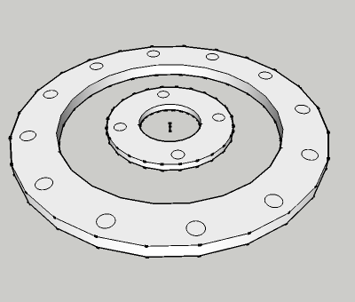 AS 2129 Plate flange