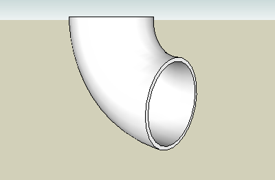 stainless steel long radius elbow 90