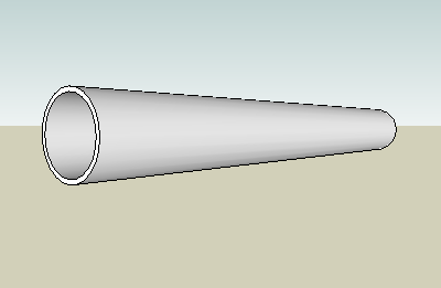 wrought red brass tube