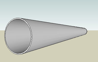 circular hollow steel section